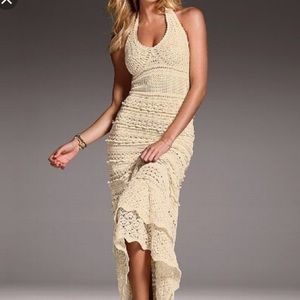 Dresses & Skirts - Crochet Maxi. One size fits all